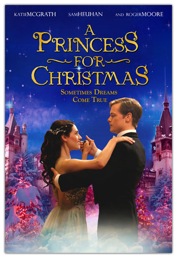 A Princess For Christmas Poster.Josh Grimm Christmas